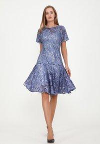 Madam-T - SACASA - Cocktail dress / Party dress - indigo - 1