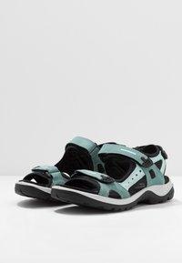 ECCO - OFFROAD - Walking sandals - trellis/eggshell blue - 2
