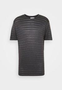 Topman - TEE - Print T-shirt - grey - 4