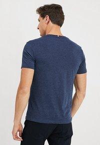 Pier One - T-shirt basic - mottled dark blue - 2