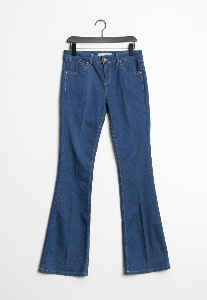 Topshop - Flared Jeans - blue