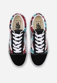 Vans - OLD SKOOL EXCLUSIVE - Sneakers laag - black/multicolor/true white - 3