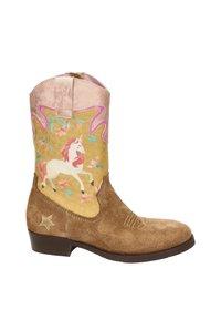 Shoesme - Cowboy-/Bikerlaarzen - cognac - 5