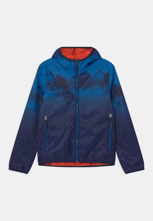 LYSE - Waterproof jacket - neon blue