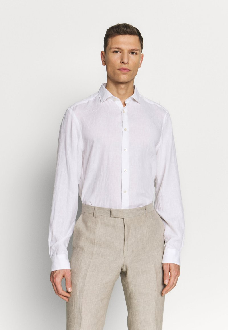 OLYMP - OLYMP LEVEL 5 BODY FIT  - Košile - white