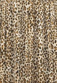 Kaffe Curve - KCLANANA SKIRT - Maxi skirt - brown/gold - 2