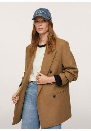VESTE  - Short coat - marron moyen