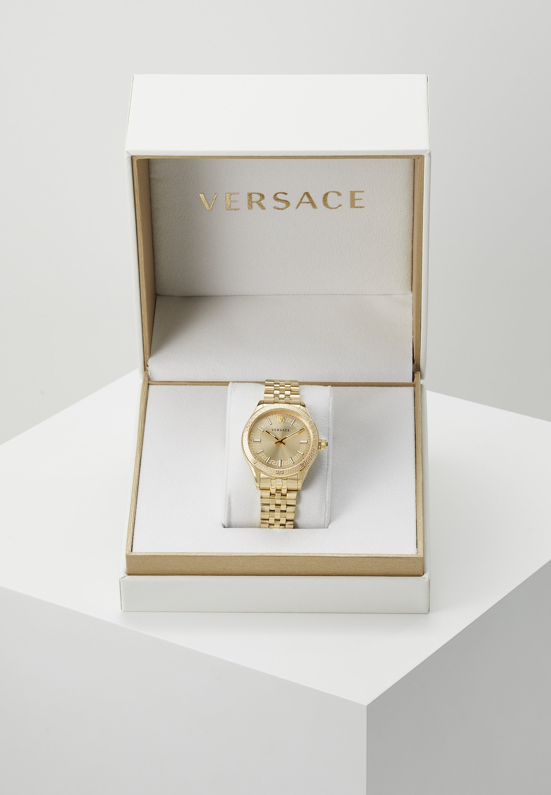 Factory Price Amazing Price Accessories Versace Watches HELLENYIUM Watch gold-coloured J74ArcXLe Wvz5jhH9x
