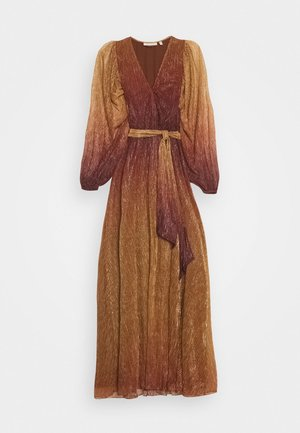 GIZELA DRESS - Ballkjole - cayenne ombre