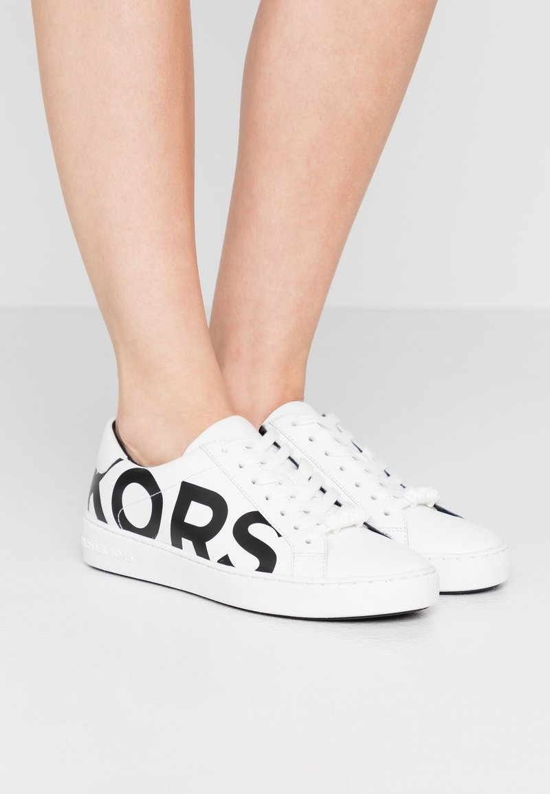MICHAEL Michael Kors - IRVING LACE UP - Trainers - optic white