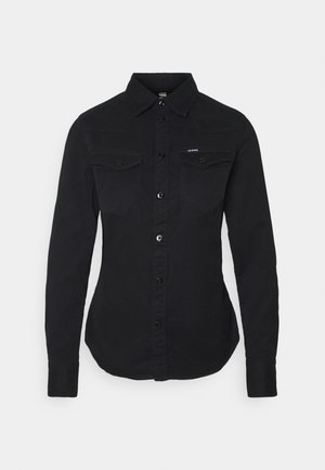 WESTERN KICK BACK SLIM  - Chemisier - dk black