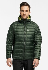 Haglöfs - ROC DOWN HOOD - Down jacket - fjell green - 0