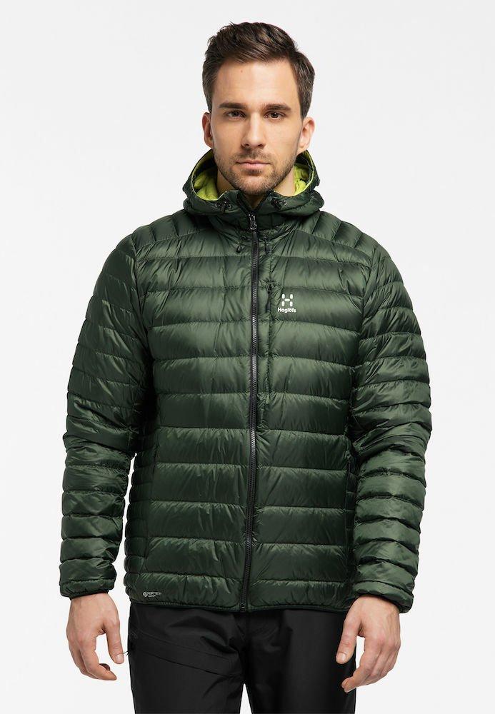 Haglöfs - ROC DOWN HOOD - Down jacket - fjell green