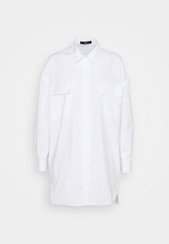 EVE LONG BLOUSE - Button-down blouse - white