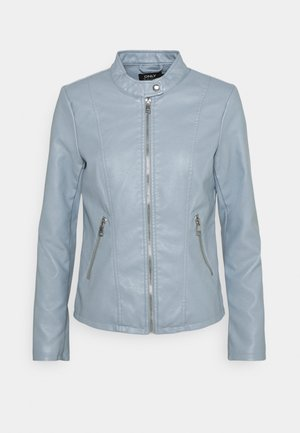 ONLMELISA FAUX JACKET - Giacca in similpelle - blue fog