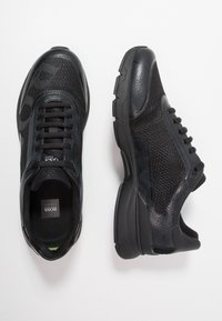 BOSS - VELOCITY RUNN LOGO - Trainers - black - 1