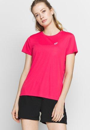 Print T-shirt - pixel pink
