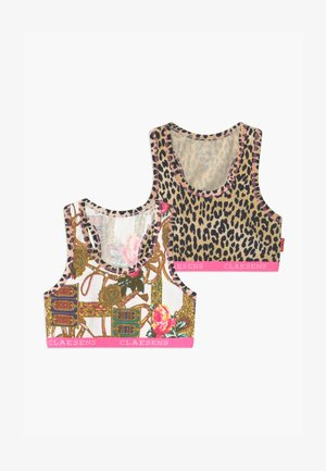 GIRLS CROP 2 PACK - Korzet - rose