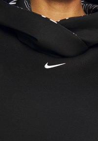 Nike Performance - HOODIE - Jersey con capucha - black/metallic silver - 7