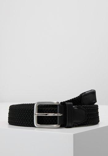 JACSPRING BELT - Braided belt - black