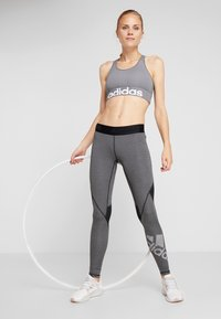 adidas Performance - ASK  - Leggings - black/heather - 1