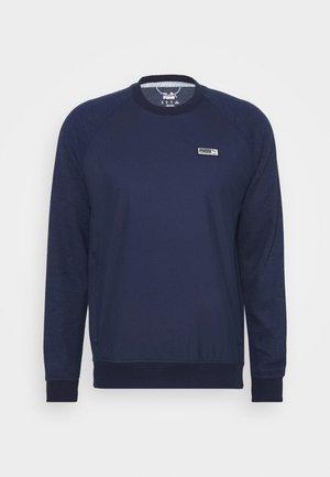RUNWAY CREW - Pullover - peacoat heather