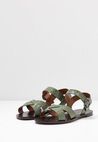Minelli - Sandály - kaki - 4