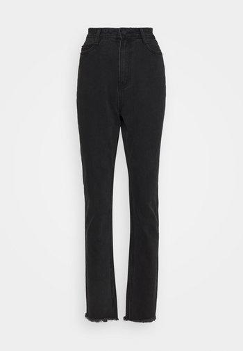WRATH RISE CLEAN CUT - Jeans straight leg - black