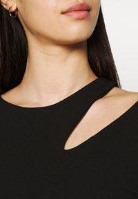WAL G. - HATTIE CUT OUT MIDI DRESS - Jersey dress - black - 5