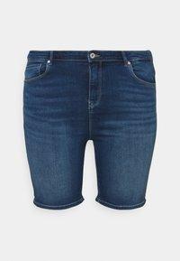 ONLY Carmakoma - CARLAOLA LIFE - Denim shorts - medium blue denim - 3