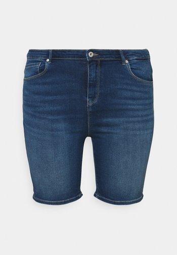 CARLAOLA LIFE - Denim shorts - medium blue denim