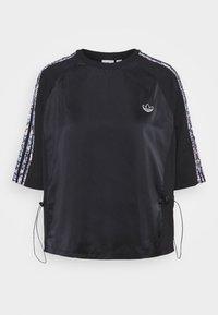 adidas Originals - BOXY - T-shirts med print - black - 5
