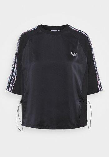 BOXY - Camiseta estampada - black