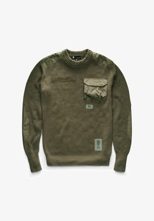 ARMY R - Stickad tröja - combat
