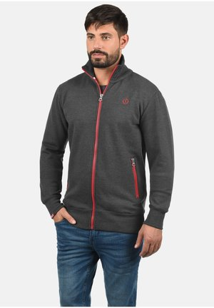BENNTRACK - Zip-up hoodie - medium grey
