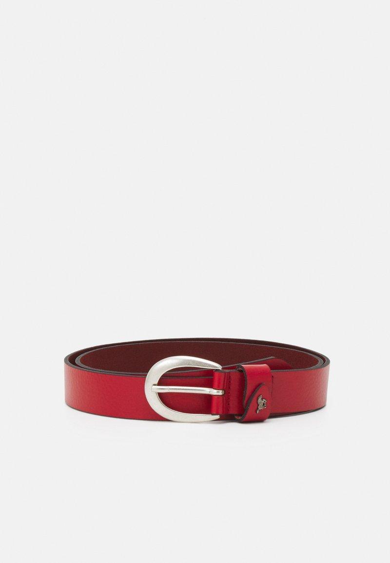Mustang - Formální pásek - red