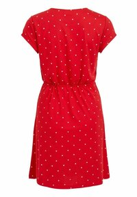 Vila - VIMOONEY STRING - Jersey dress - mars red - 6
