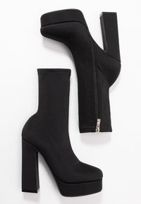 BEBO - CLANCY - High heeled ankle boots - black - 3
