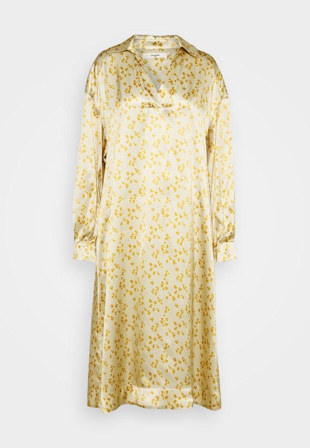 FIOLA - Košilové šaty - lemon curry