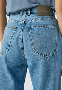 PULL&BEAR - Straight leg jeans - dark blue - 4