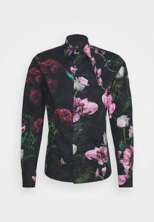 FACIONNE  - Camicia - black/pink