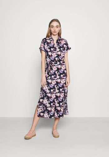 VMINES WIDE CALF - Shirt dress - navy blazer