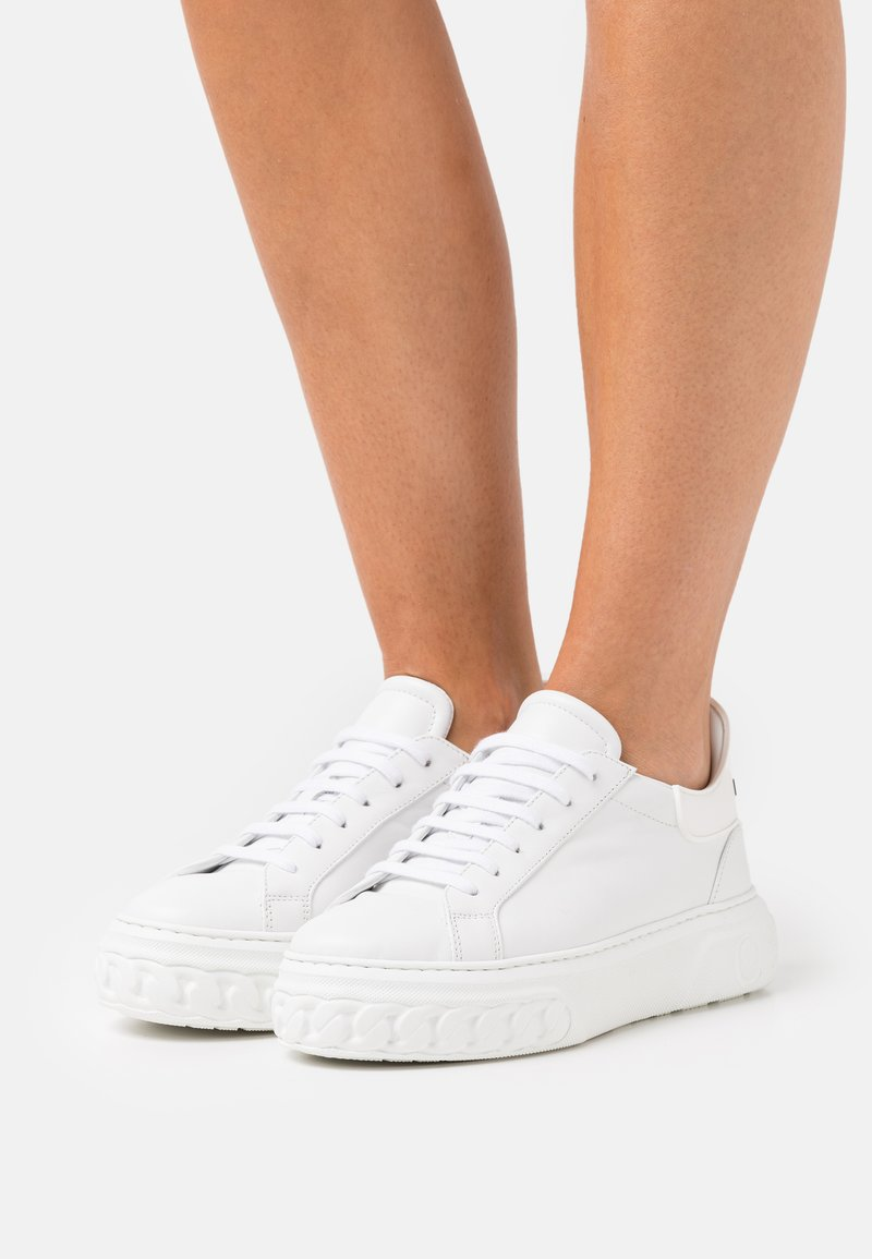 Casadei - Baskets basses - nero/bianco