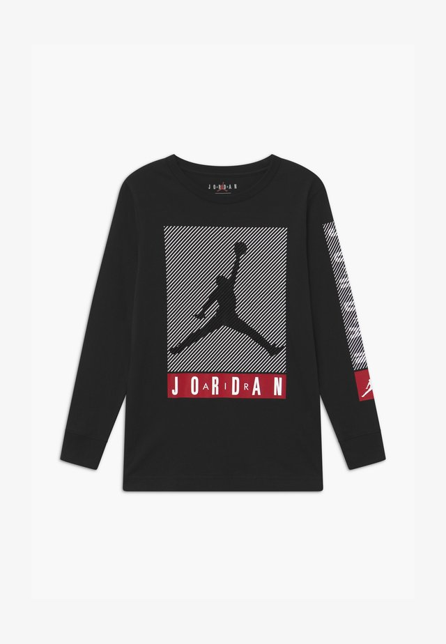 JUMPMAN BLINDS - Maglietta a manica lunga - black
