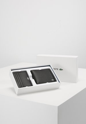 BILLFOLD COIN BOX SET - Lompakko - black