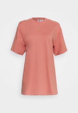 T-shirt print - ash pink