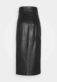 Paul Smith - WOMENS SKIRT - Pouzdrová sukně - black - 1