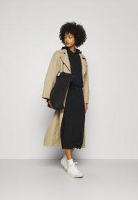 edc by Esprit - 2 IN 1 DRESS - Jumper dress - black - 1