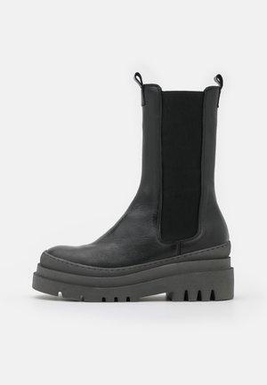 BIADEMA - Platform boots - black