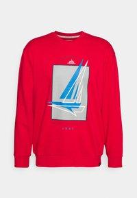 Newport Bay Sailing Club - GRAPHIC - Sweatshirt - red - 4